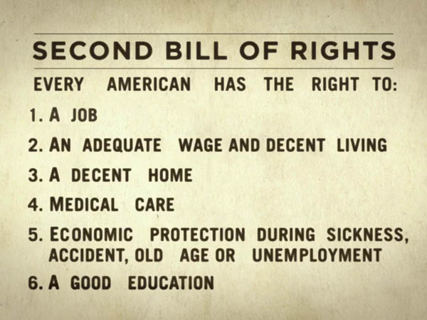 Second Bill of Rights (F. D. Roosevelt)